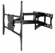 Articulating Mount With Dual Arms for Large 42-63 in. Displays