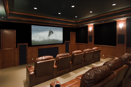installing and creating a home theater saugus ma - Home Theater Lighting Design